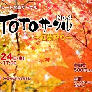 ポートレート写真サークル [撮影会] 11/24 紅葉狩り