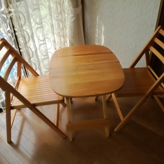 折り畳み テーブル チェア セット