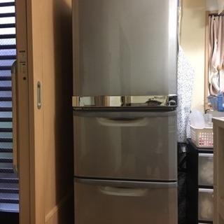 三菱冷蔵庫 MR-CU33JL-S