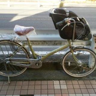 受付一時停止 【整備済み】子供乗せ自転車【中古】