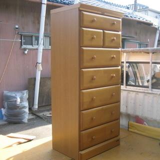 天然木 丁度いいサイズの木製チェスト 中古