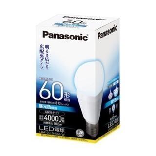 パナソニック LED電球 LDA10D-G/K60/W