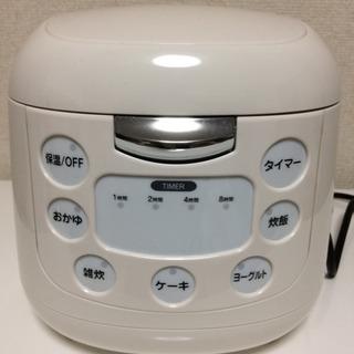 ROOMMATE コンパクト炊飯ジャー (3.5合炊き) EB-R...