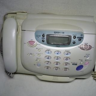 FAX.スキャナー付き電話機 NEC SPEAX43CL 感熱紙 FAX