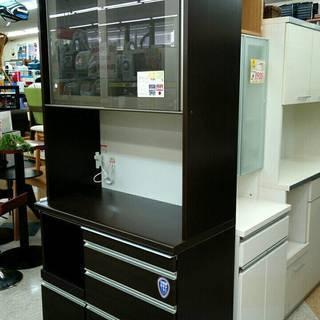松田家具 レンジボード 食器棚