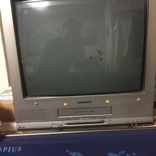 テレビデオ シャープVHS20インチ
