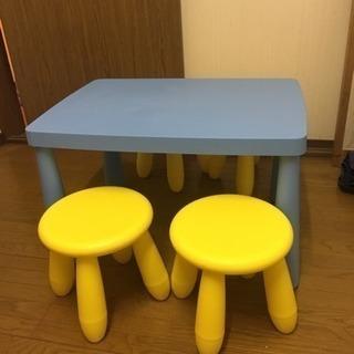 IKEA 子供用テーブルと椅子セット