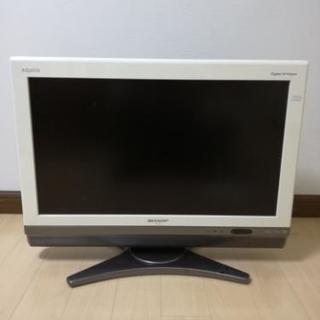 【中古】SONY AQUOS テレビ 26インチ ホワイト