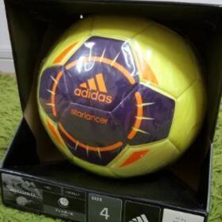 サッカーボール 4号 新品