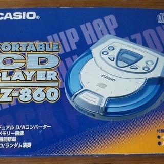 PZ-860 カシオポータブルCDプレーヤー・ほぼ新品