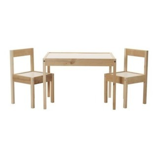 IKEA LATT 子供用テーブルイスセット