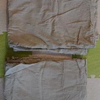 無印良品  シングル  掛け布団カバー  2点セット
