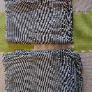 無印良品  シングル  掛け布団カバー  2点セット  柔らかい綿です。