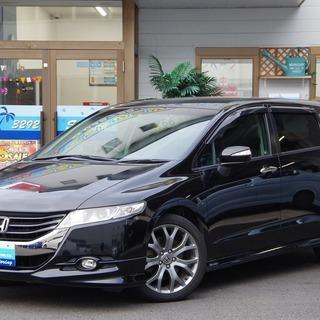 【誰でも車がローンで買えます】H21 オデッセイ アブソル―ト 黒...