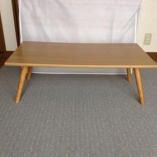ローテーブル 木製   2017年5月購入