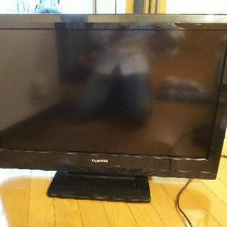 32型液晶テレビ+Blu-rayプレーヤーセット