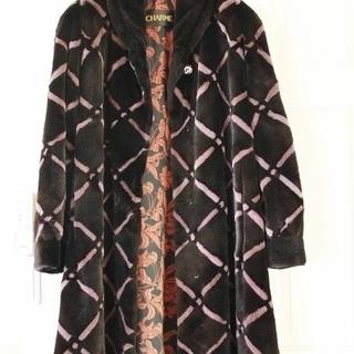 サガミンク シェアードミンク ロングコート フリーサイズ11号~13号
