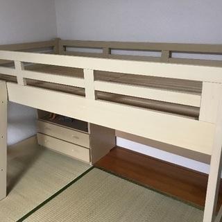 ベッド下を有効活用 子供ベッド