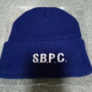 ニット帽(紺色)