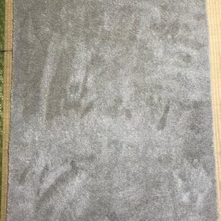 無印良品 MUJI ポリエステルカットパイルラグ 100×140cm