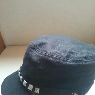 40~50㎝スタッズ?ドクロのカッコイイ帽子