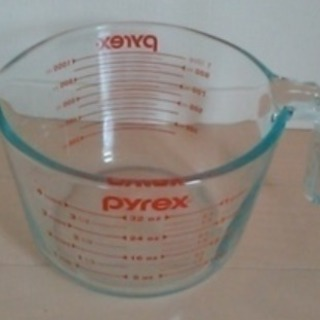パイレックス メジャーカップ、タッパウェア+デジタル温度計 お売りします