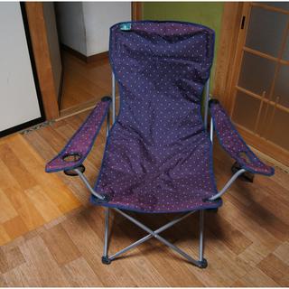 アウトドア 釣り キャンプ BOISOL 折り畳み椅子 水玉模様 ...