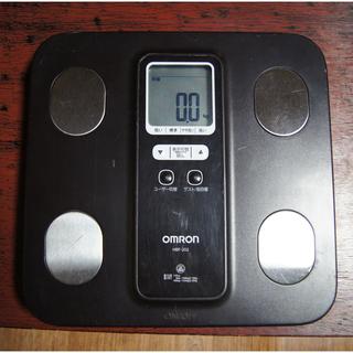 オムロン HBF-202 体重計 体脂肪計 中古