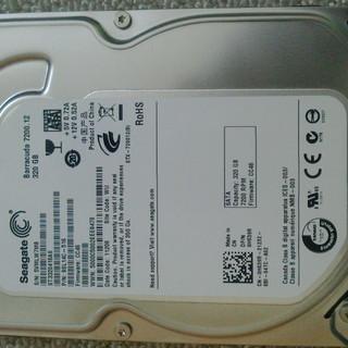 相談中 3.5インチHDD  320GB