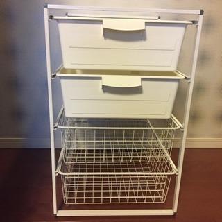 IKEA 美品 イケア 収納家具 ANTONIUS 多目的収納ユ...