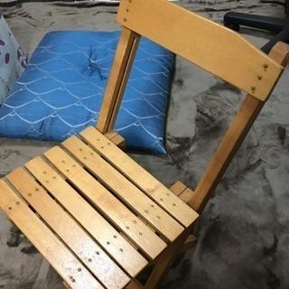 ハンドメイド☆折りたたみ椅子