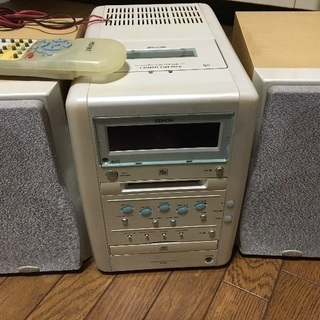 取引中 DENON CD MD カ...
