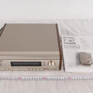 SANSUI T-α7 サンスイ ステレオチューナー FM AM