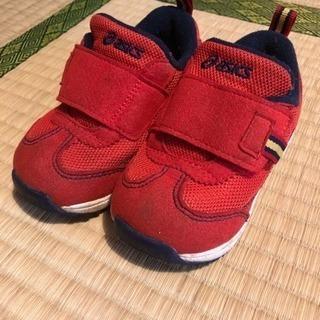 値下げ アシックス 子ども 靴 13.5
