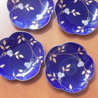 香蘭社  未使用小皿 4枚セット