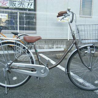 中古自転車64A(防犯登録無料) ブリヂストン エコホーム 26イ...