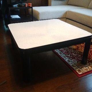コタツテーブル75×75×35cm