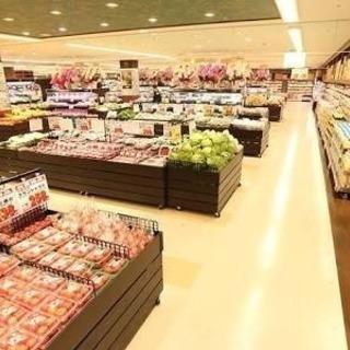 スーパーで食品の補充・早く業務が終われば勤務終了です!