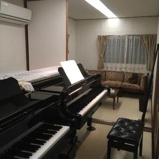 リフォーム仕立てのお教室で♪ピアノ...