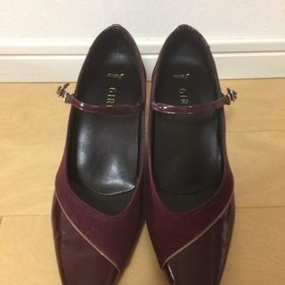 【手渡し希望】アシックス GIROの靴 24.5センチ