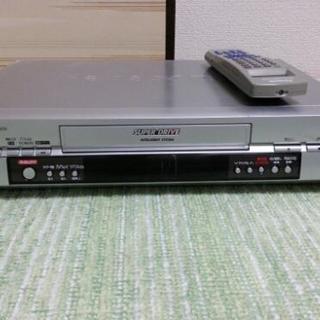 Panasonic  ビデオデッキ  リモコン付き