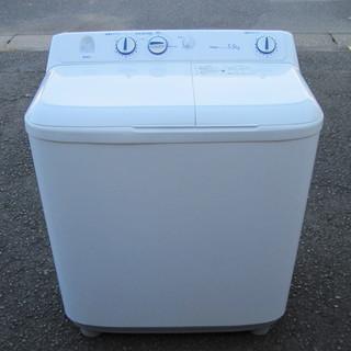 《良品》 Haier ハイアール 二槽式洗濯機 5.5kg JW-...