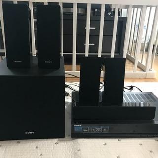 SONY 5.1ch ホームシアターシステム AVレシーバー ST...