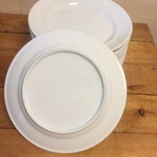 白い皿セット 大量 飲食店使用品