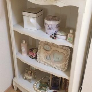 猫足姫系家具 棚