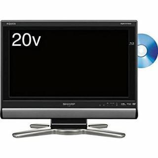 SHARP 20V型 液晶 テレビ AQUOS LC-20DX1-...