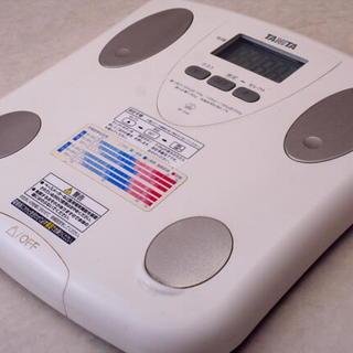 TANITA/タニタ 体脂肪付ヘルスメーター BF-046-WH ...