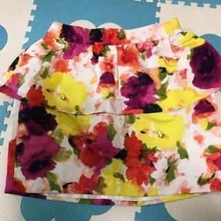 花柄foever21スカート