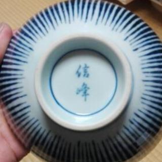 信峰の陶器!お茶椀