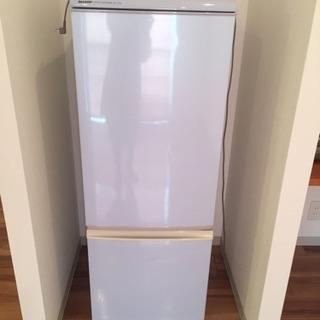 シャープ冷凍冷蔵庫 1人から2人暮らし用